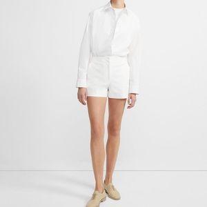 Theory SeaSalt White Shorts